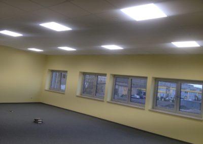 Biuro oświetlenie LED